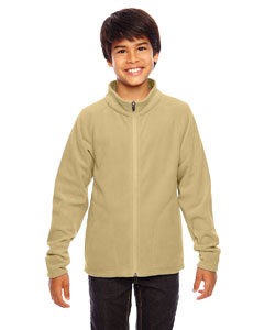 Sport Vegas Gold Youth Campus Microfleece Jacket