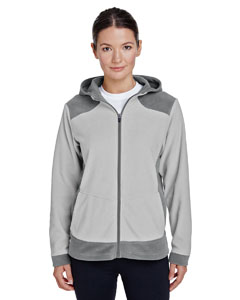 Sp Graph/ Sp Sil Ladies' Rally Colorblock Microfleece Jacket