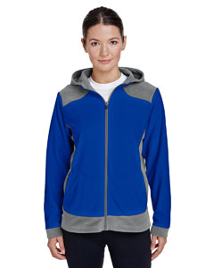 Sp Grph/ Sp Roy Ladies' Rally Colorblock Microfleece Jacket