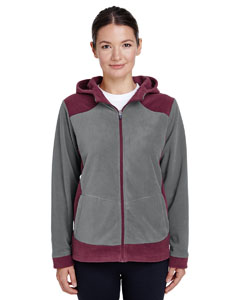 Sp Marn/ Sp Grp Ladies' Rally Colorblock Microfleece Jacket