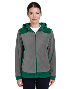 Sp Forst/ Sp Grp Ladies' Rally Colorblock Microfleece Jacket