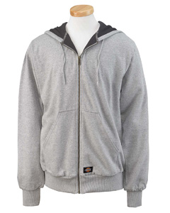 Ash Gray Thermal-Lined Fleece Jacket