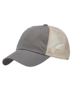 Grey Riptide Ripstop Trucker Hat