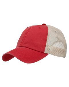 Red Riptide Ripstop Trucker Hat