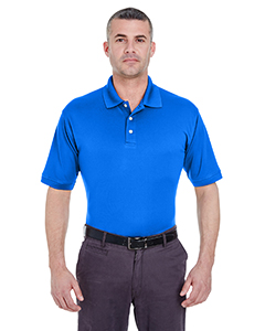 Royal Men's Platinum Performance Pique Polo with TempControl Technology