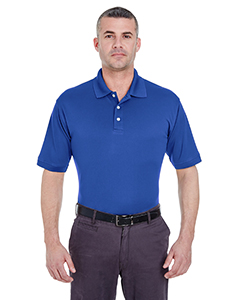 Cobalt Men's Platinum Performance Pique Polo with TempControl Technology