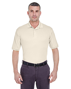 Stone Men's Platinum Performance Pique Polo with TempControl Technology