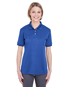 Cobalt Ladies' Platinum Performance Pique Polo with TempControl Technology
