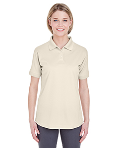 Stone Ladies' Platinum Performance Pique Polo with TempControl Technology