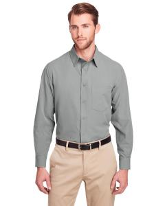 Silver Men's Bradley Performance Woven Shirt