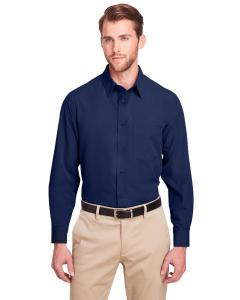 Navy Men's Bradley Performance Woven Shirt