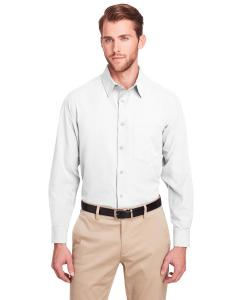 White Men's Bradley Performance Woven Shirt