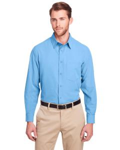 Columbia Blue Men's Bradley Performance Woven Shirt