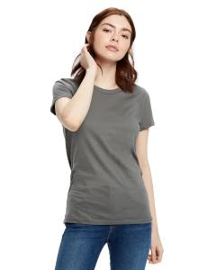 Asphalt Ladies' Made in USA Short Sleeve Crew T-Shirt