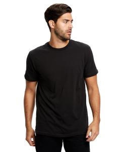 Black Men's Made in USA Short Sleeve Crew T-Shirt