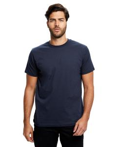 Navy Blue Men's Made in USA Short Sleeve Crew T-Shirt