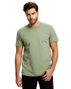 Olive Men's Made in USA Short Sleeve Crew T-Shirt