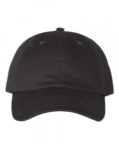 Charcoal Brushed Twill Cap