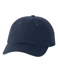 Navy Small Fit Bio-Washed Dad's Cap