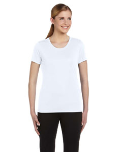 White Women's Sports T-Shirt