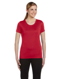 Red Women's Sports T-Shirt