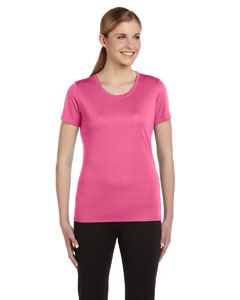 Sport Chrty Pink Women's Sports T-Shirt