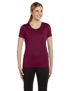 Sport Maroon Women's Sports T-Shirt