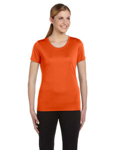 Sport Orange Women's Sports T-Shirt