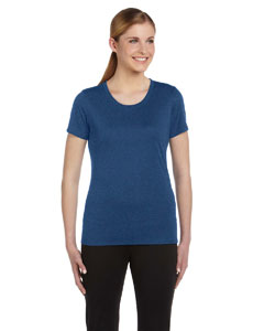 Heather Navy Women's Sports T-Shirt