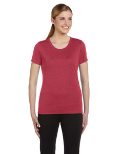 Heather Red Women's Sports T-Shirt
