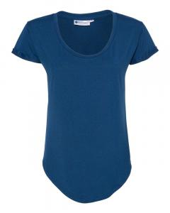 Heather Lapis Blue Women's Cool Last Heathered Lux Dolman Sleeve T-Shirt